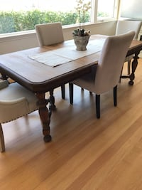 rectangular brown wooden dining table San Diego, 92106