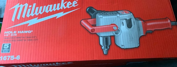 "Milwaukee - Hole Hawg 1/2"" Drill 42a0ac59-9c31-47ce-9718-eb35db049709"