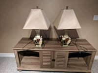 Lamps and/or TV Stand Lapeer, 48446