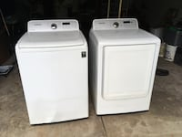 Used Samsung Moisture Sensor Washer And Electric Dryer For