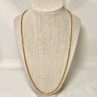 Heavy 18k Yellow Gold Rope Chain Ashburn