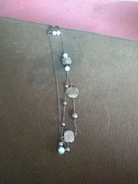 silver-colored necklace with clear gemstones Roanoke, 24012