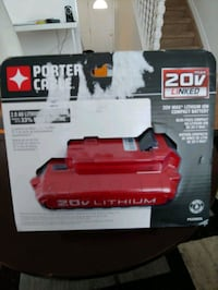 Porter-Cable 20 volt Max lithium ion battery brand new in box Edmonton, T5T 2C6