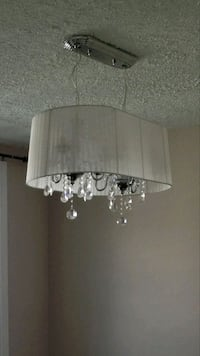 Large Crystal Chandelier with Shade Toronto, M1M 3N4
