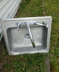stainless steel sink with faucet South Amboy, 08879