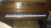 brown and white upright piano Greenfield, 93927