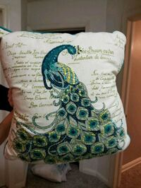 Pier One Peacock Throw Pillow - Set of 2 Dundalk, 21222