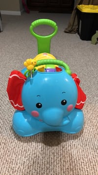 Fisher Price 3-in-1 Bounce Stride and Ride Elephant Temple Hills, 20748