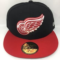Detroit RedWings 5950 New Era Fitted Caps