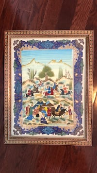 Vintage persian Drawing Miniature  Toronto, M2K 3C2