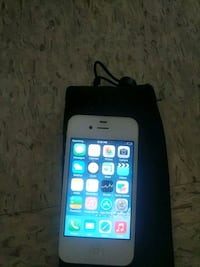 white iPhone 4s with black case Winnipeg, R3A 1N6