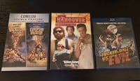 Comedy Movies Pack (Hangover, Chevy Chase, Tucker & Dale) Burlington, L7R 1J8