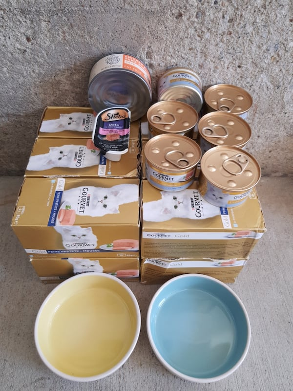 Thuna Pate 54xCans + Set of bowls + two extra pates 6b6e358e-d72a-4b2e-afcb-841add549415