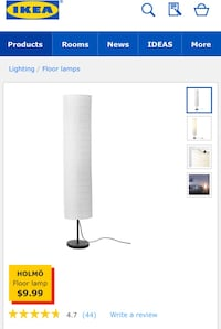 Ikea floor and table lamps Toronto, M4Y