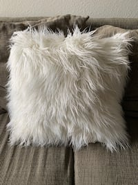 Fuzzy pillow