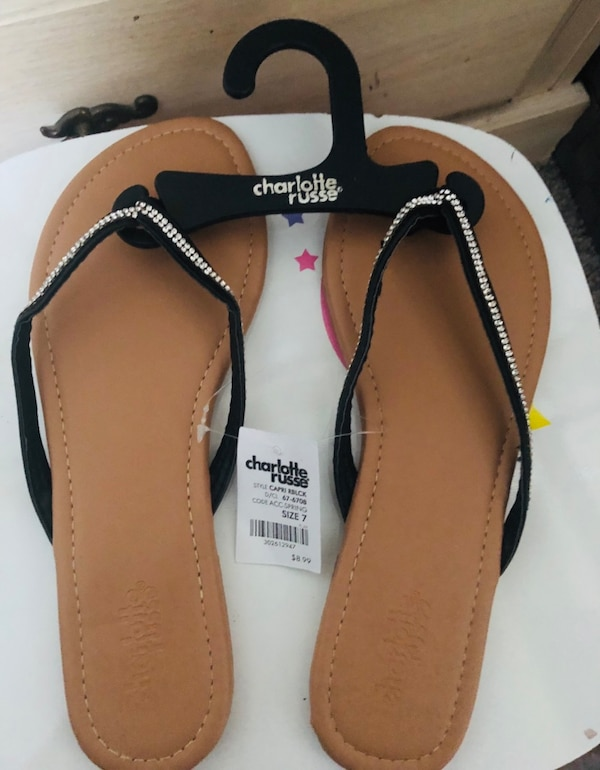 54e6673ae Used Charlotte Russe Flips Flops for sale in Dallas - letgo