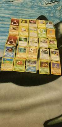 83 pokemon cards  Shafter