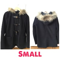 New Women's black fur coat size small Montréal, H3H