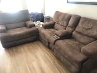 Two Piece Reclining Sofas Germantown