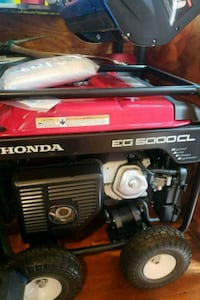 black and red Honda generator Virginia Beach, 23454