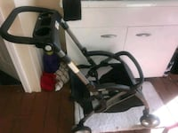 baby's black and gray stroller and car seat Waterbury, 06702