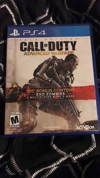 Call of Duty Advanced Warfare PS4 game case St Catharines, L2T 3A4
