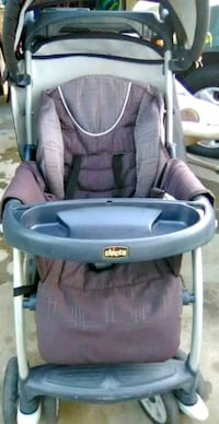 baby's gray and pink Chicco stroller Modesto, 95351
