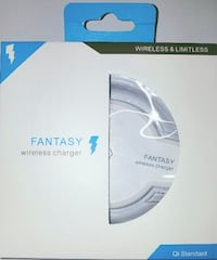 white Fantasy wireless charger box Springfield