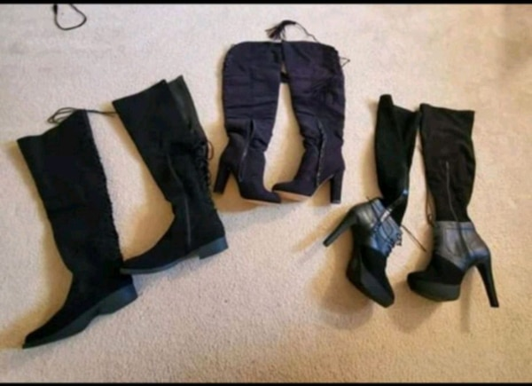Women boots size 10s brand New 15.00 a pair