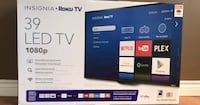 39 inch Insignia Smart tv with box Calgary, T2P 0N9