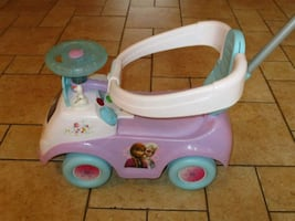 Frozen 4-in-1 Ride On Baby/ Toddler Car