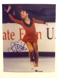 Tara Lipinski Signed 1998 Olympic 8 x 10 Photo with Certificate of Authenticity  London