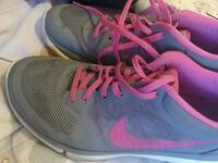 pair of gray-and-pink Nike running shoes Oxnard, 93030