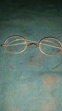 Rare Antique Eyeglasses from 1890-1910 Indianola, 50125