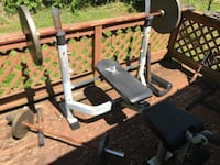 Weight bench Central City, 42330
