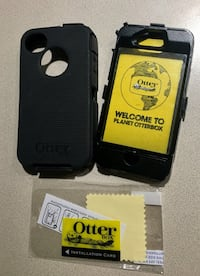 Otter box case and screen protector