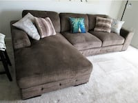 Terry 2-Piece Sectional Sofa with Chaise Reston
