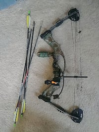 black and brown compound bow Centreville, 20120