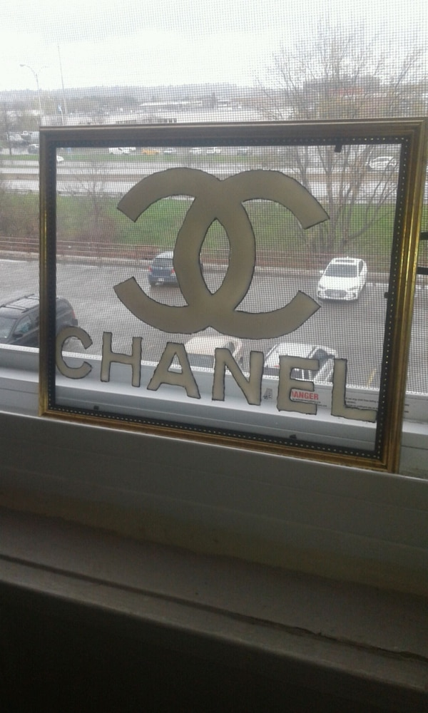 Chanel stained glass art  2d231560-606e-487c-845e-2fd19bf4f119