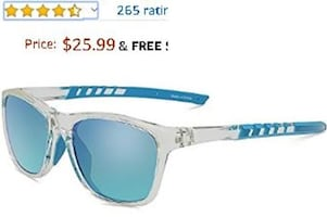 Polarized Sports Sunglasses for Men/Women NEW IN BOX 1/2 PRICE