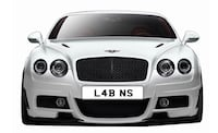 Personalised Number Plate L4 BNS or L4B NS Northampton, NN6 0DN