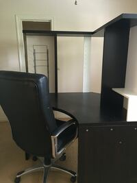 black wooden desk with chair Dallas, 75209