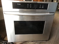 Stainless GE STOVE / cooktop/ and microwave Temescal, 92883