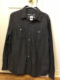 Gap Men's Dark Grey Dress Shirt Mississauga, L5R 3Y7