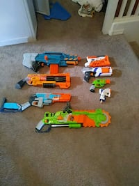 Large collection of nerf guns Rio Rancho, 87144