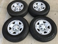 "OEM Toyota Tacoma 4Runner Sequoia FJ 16"" Factory Rims with tires Rosemead, 91770"