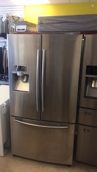 Samsung French Door Stainless Steel Refrigerator works perfect with 90 days warranty  Raleigh, 27610