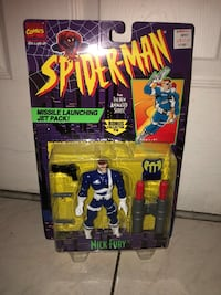 Spider-Man Missile Launching Jet Pack Nick Fury  New York, 11385