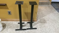 Black hi end speaker stands.  Brandon, 57005