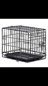 black metal wire pet kennel Toronto, M9A 2C2